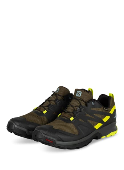 SALOMON Trailrunning-Schuhe XA ROGG GTX, Farbe: SCHWARZ/ OLIV (Bild 1)