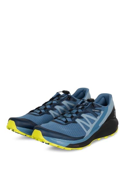 SALOMON Trailrunning-Schuhe SENSE RIDE 4, Farbe: BLAU (Bild 1)