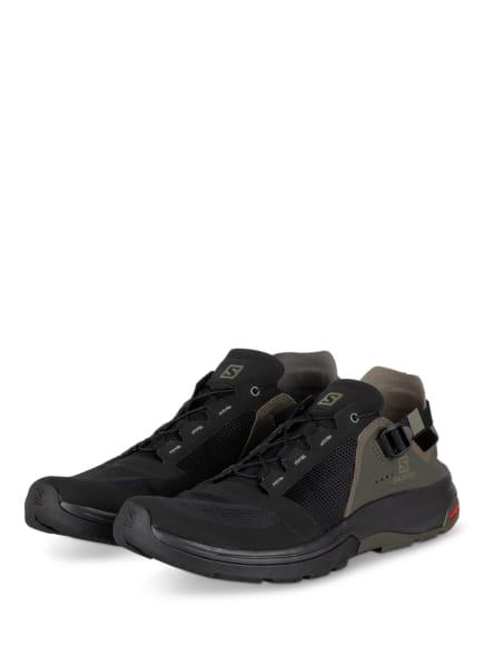 SALOMON Outdoor-Schuhe TECH AMPHIBIAN 4, Farbe: SCHWARZ/ KHAKI (Bild 1)