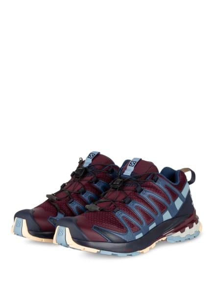 SALOMON Trailrunning-Schuhe XA PRO 3D V8, Farbe: DUNKELROT/ BLAU (Bild 1)