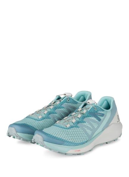 SALOMON Trailrunning-Schuhe SENSE RIDE 4, Farbe: MINT (Bild 1)
