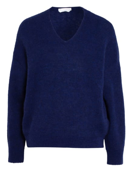 BOSS Pullover FILLALLON mit Alpaka, Farbe: DUNKELBLAU (Bild 1)