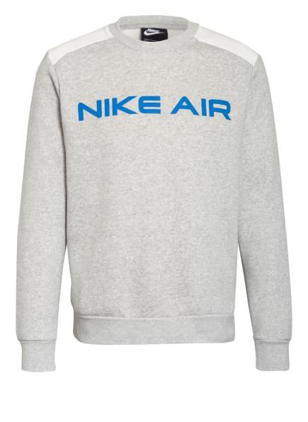 Nike Sweatshirt AIR FLEECE, Farbe: HELLGRAU/ WEISS (Bild 1)