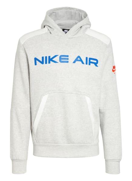 Nike Hoodie AIR FLEECE, Farbe: HELLGRAU (Bild 1)