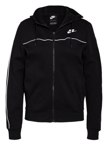 Nike Sweatjacke MILLENNIUM, Farbe: SCHWARZ/ WEISS (Bild 1)