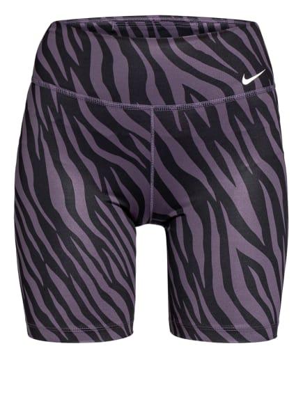 Nike Fitnessshorts ONE , Farbe: LILA/ SCHWARZ (Bild 1)