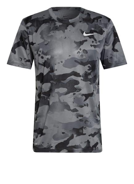 Nike T-Shirt DRI-FIT, Farbe: GRAU/ SCHWARZ (Bild 1)