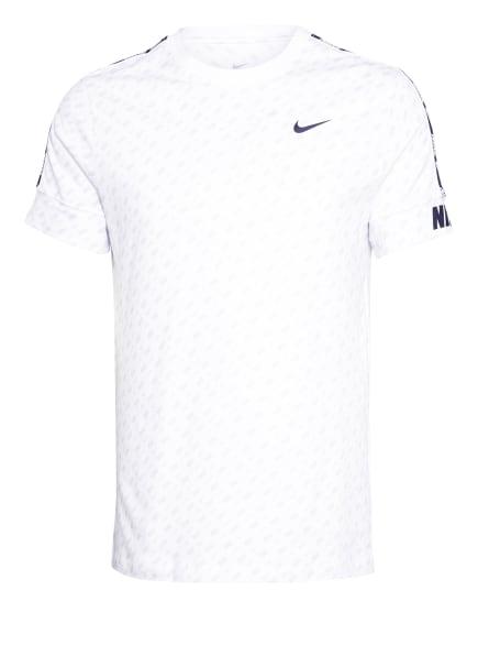 Nike T-Shirt REPEAT PRINT , Farbe: WEISS/ HELLGRAU (Bild 1)