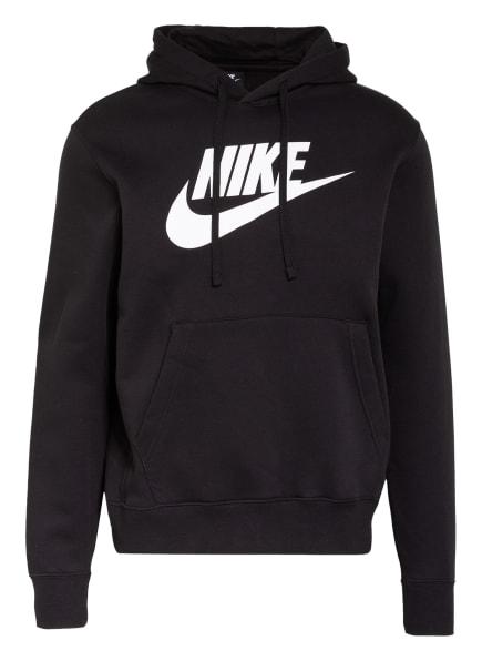 Nike Hoodie, Farbe: SCHWARZ/ WEISS (Bild 1)