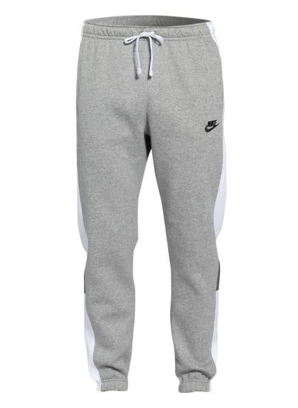 Nike Sweatpants mit Galonstreifen, Farbe: GRAU/ WEISS (Bild 1)
