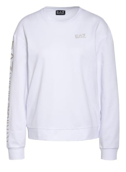 EA7 EMPORIO ARMANI Sweatshirt, Farbe: WEISS (Bild 1)