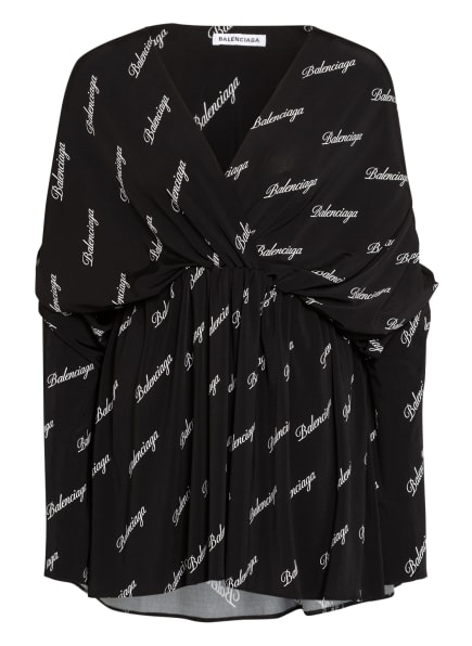 BALENCIAGA Kleid , Farbe: SCHWARZ/ WEISS (Bild 1)