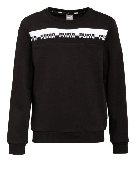 PUMA Sweatshirt, Farbe: SCHWARZ/ WEISS (Bild 1)