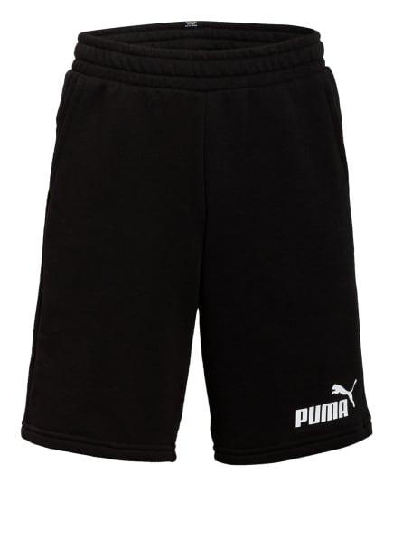 PUMA Sweatshorts Regular Fit, Farbe: SCHWARZ (Bild 1)
