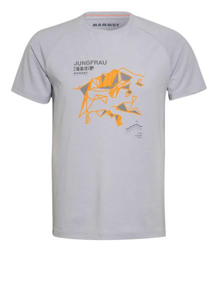 MAMMUT T-Shirt MOUNTAIN, Farbe: BLAUGRAU (Bild 1)