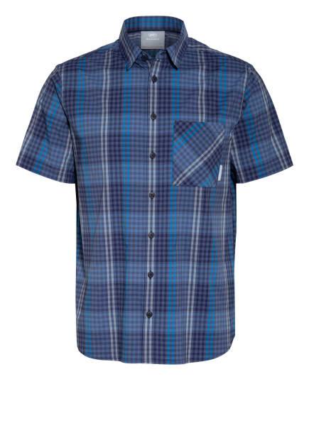 MAMMUT Outdoor-Hemd CALANCA, Farbe: DUNKELBLAU/ BLAU/ WEISS (Bild 1)