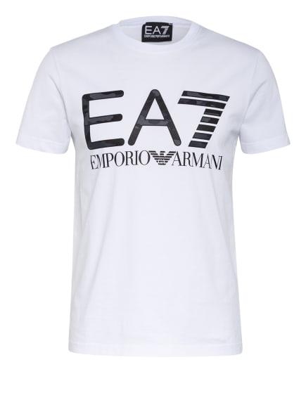EA7 EMPORIO ARMANI T-Shirt, Farbe: WEISS/ SCHWARZ (Bild 1)
