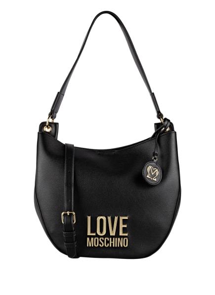 LOVE MOSCHINO Hobo-Bag, Farbe: SCHWARZ (Bild 1)
