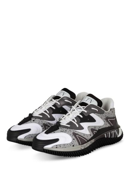 VALENTINO GARAVANI Sneaker VLTN , Farbe: SCHWARZ/ WEISS/ GRAU (Bild 1)