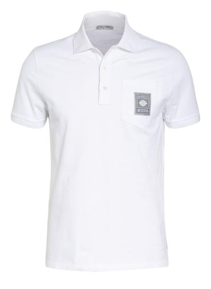 VALENTINO Piqué-Poloshirt, Farbe: WEISS (Bild 1)