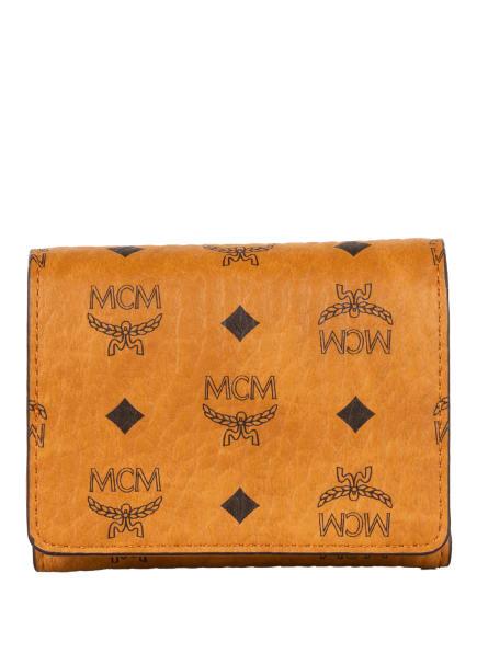 MCM Geldbörse, Farbe: COGNAC/ SCHWARZ (Bild 1)
