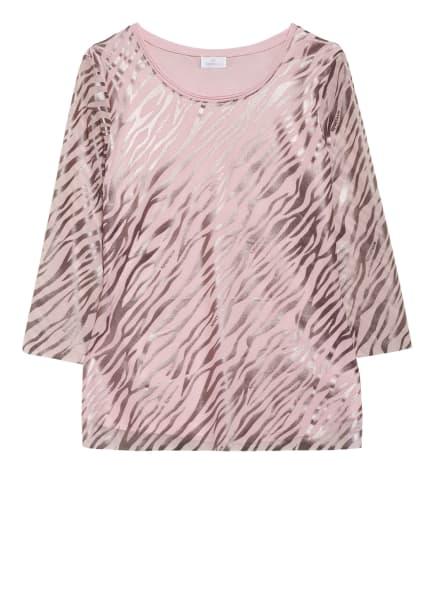 SPORTALM Blusenshirt mit 3/4-Arm, Farbe: ROSA/ HELLGRAU (Bild 1)