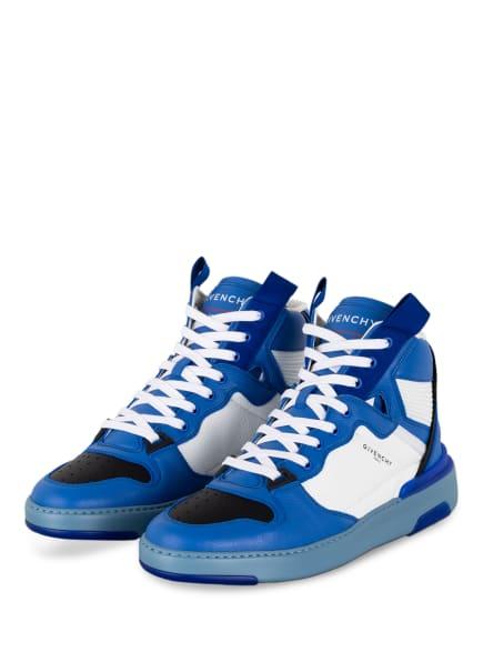 GIVENCHY Hightop-Sneaker WING, Farbe: BLAU/ WEISS/ SCHWARZ (Bild 1)