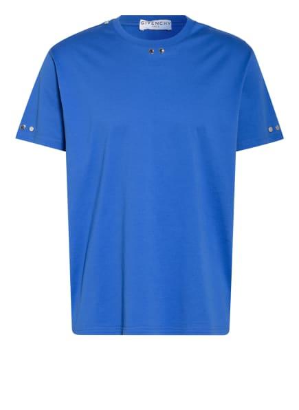 GIVENCHY T-Shirt mit Nietenbesatz, Farbe: BLAU (Bild 1)
