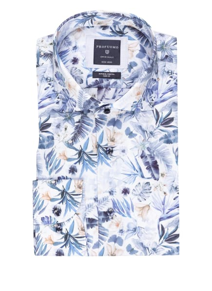 PROFUOMO Hemd Slim Fit, Farbe: HELLBLAU/ BLAU/ BEIGE (Bild 1)