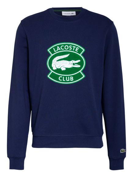 LACOSTE Sweatshirt, Farbe: DUNKELBLAU/ GRÜN/ WEISS (Bild 1)