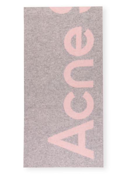 Acne Studios Schal TORONTY, Farbe: GRAU/ ROSA (Bild 1)