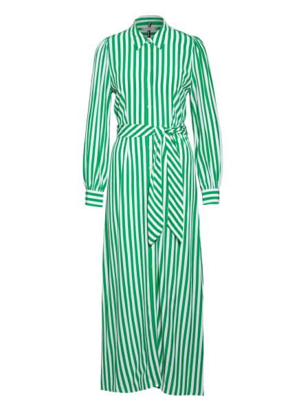 TOMMY HILFIGER Hemdblusenkleid, Farbe: WEISS/ GRÜN (Bild 1)