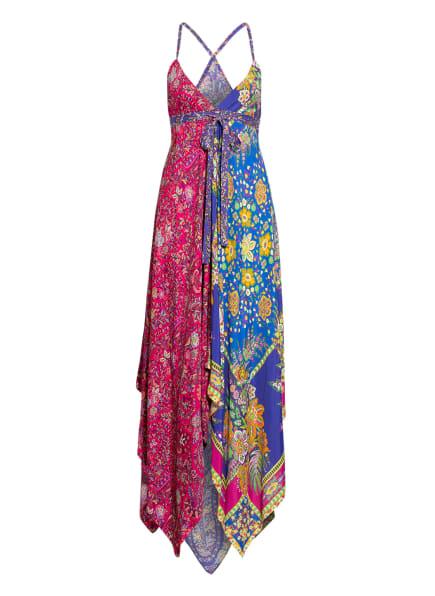 ETRO Strandkleid mit Seide, Farbe: FUCHSIA/ BLAU/ GELB (Bild 1)