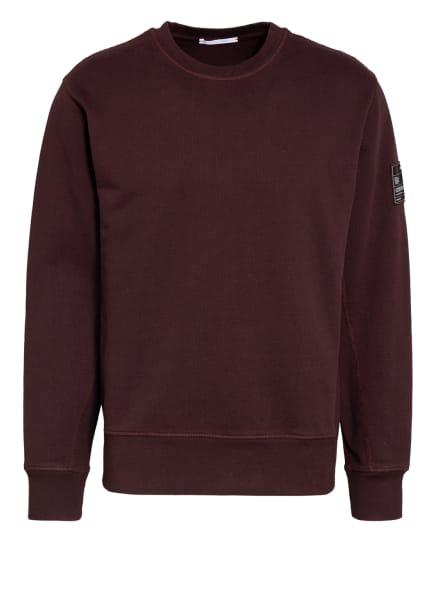 HELMUT LANG Sweatshirt, Farbe: DUNKELROT (Bild 1)