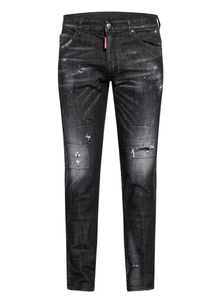 DSQUARED2 Destroyed Jeans COOL GUY Extra Slim Fit, Farbe: 900 (Bild 1)