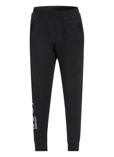 DSQUARED2 Hose im Jogging-Stil Extra Slim Fit, Farbe: SCHWARZ (Bild 1)