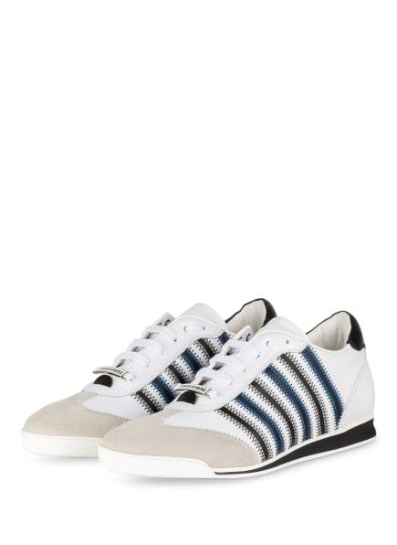 DSQUARED2 Sneaker NEW RUNNER, Farbe: WEISS/ SCHWARZ (Bild 1)