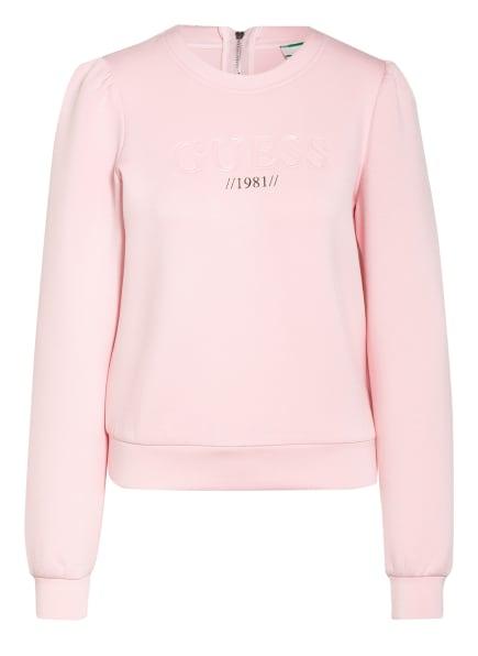 GUESS Sweatshirt AMELIA, Farbe: HELLROSA (Bild 1)