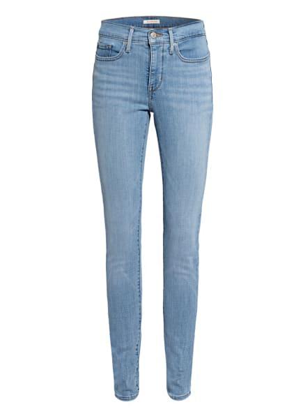 Levi's® Shaping Skinny Jeans 311, Farbe: 05 Light Indigo - Worn In (Bild 1)