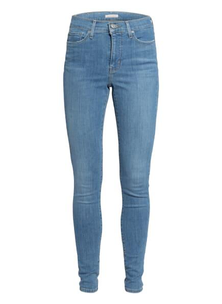 Levi's® Skinny Jeans 310 SHAPING SUPER SKINNY QUEBE, Farbe: 91 Light Indigo - Worn In (Bild 1)