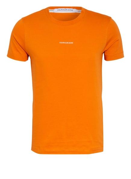 Calvin Klein Jeans T-Shirt , Farbe: ORANGE (Bild 1)
