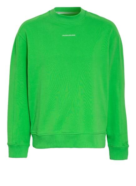 Calvin Klein Jeans Sweatshirt , Farbe: NEONGRÜN (Bild 1)