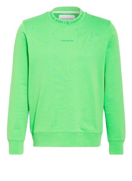 Calvin Klein Jeans Sweatshirt, Farbe: NEONGRÜN (Bild 1)