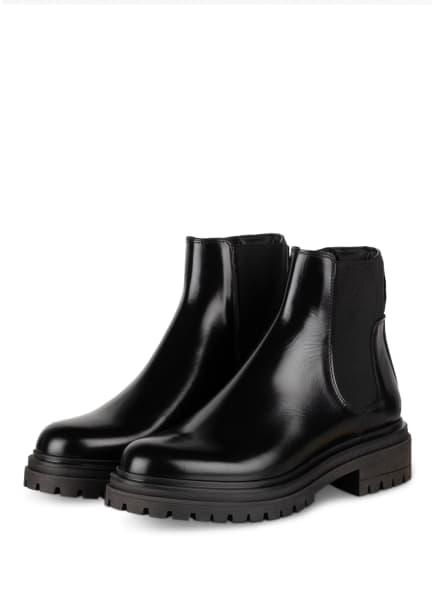 HUGO Chelsea-Boots ALPHA, Farbe: SCHWARZ (Bild 1)