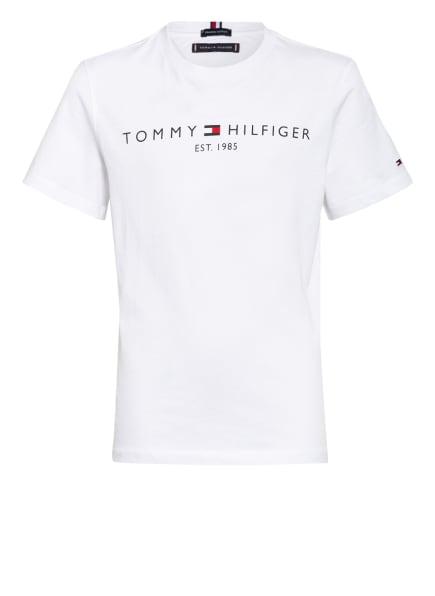 TOMMY HILFIGER T-Shirt ESSENTIAL, Farbe: WEISS (Bild 1)