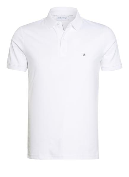 Calvin Klein Jersey-Poloshirt Slim Fit, Farbe: WEISS (Bild 1)