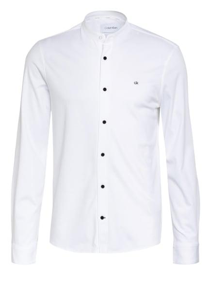 Calvin Klein Jerseyhemd Slim Fit mit Stehkragen , Farbe: WEISS (Bild 1)