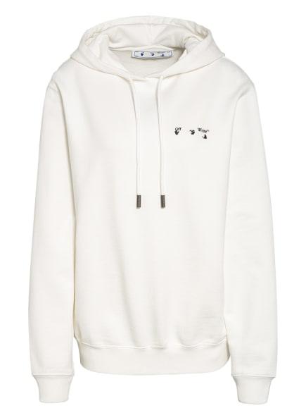 Off-White Oversized-Hoodie , Farbe: WEISS/ SCHWARZ/ ROSA (Bild 1)