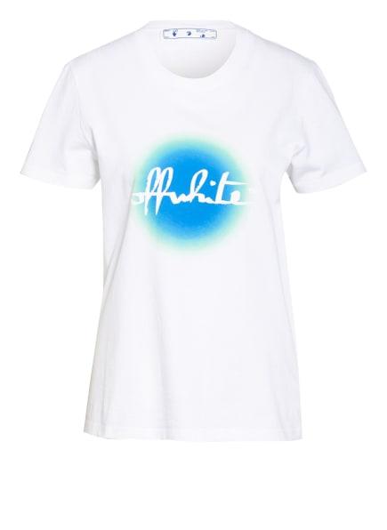 Off-White T-Shirt , Farbe: WEISS/ BLAU/ HELLGRÜN (Bild 1)