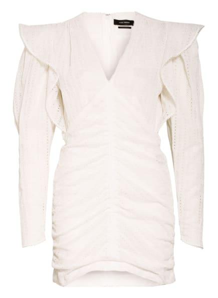 ISABEL MARANT Kleid GETYA aus Lochspitze mit Volants, Farbe: WEISS (Bild 1)